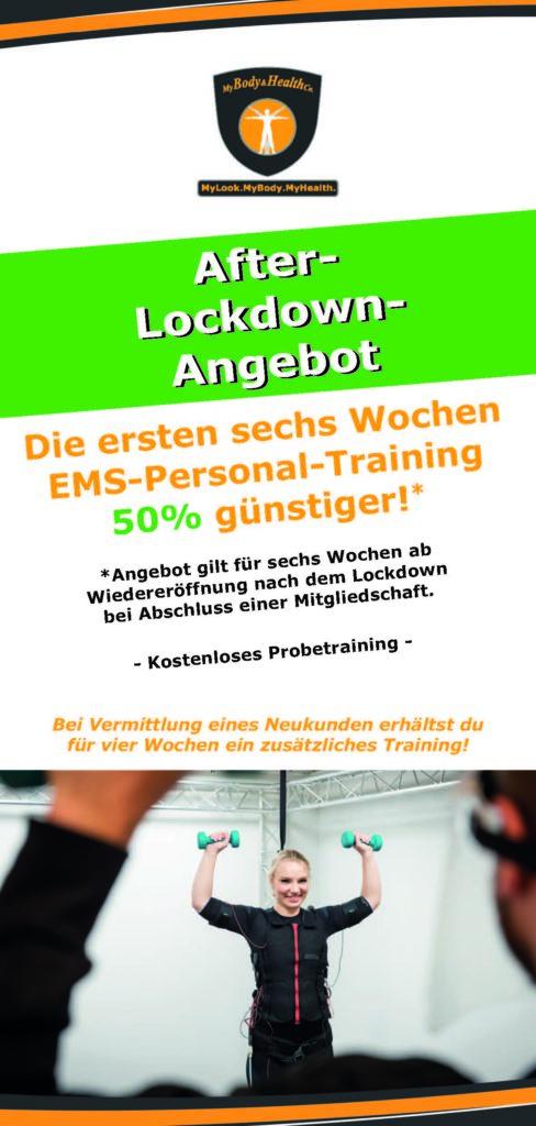 Lockdown Giveaway 10 x 21 cm 2 Seite 1
